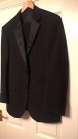 M&S black dinner suit