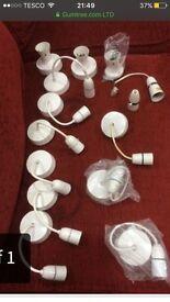 Light pendants, light batterns and light holders