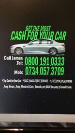 Cash 4 Cars • Unwanted Cars •Unwanted Vans • Trucks •4x4 Top Prices Paid On Collection Cash 4 Cars