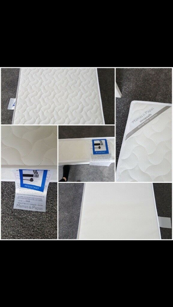 For sale Mamas and Papas cot mattress L121xW60xD10 cm