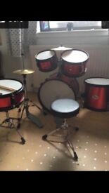 Child's drumkit