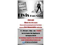 ELVIS FUN NIGHT (fundraiser) - MUSIC • QUIZ • AUCTION • RAFFLE