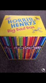 Horrid Henry Big Bad box of books