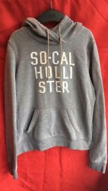 Two Grey Hollister Hoodies For Sale