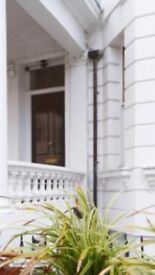 1 bedroomed apartment on the top floor in Notting Hill just moments from Portobello Road.
