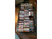Bulk of 190 assorted DVDs