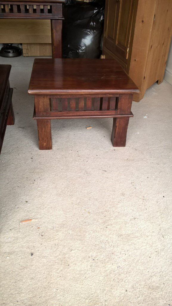 Solid Wood Square Coffee Table In Woodhall Spa Lincolnshire Gumtree