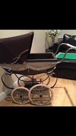 Kids silver cross pram & buggy to match