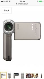 Sony handycam barely used