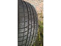 set of 4 winter tyres £100 o.n.o