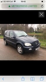 Mercedes ml270 cdi only 78,000 miles!
