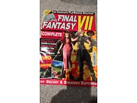 PS Final Fantasy VII game and collectors magazine
