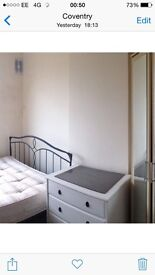 Room is furnished and all bills included £100 PwCall now to view
