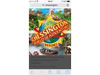 Chessington ticket swap