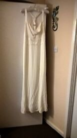 size 18 off white wedding dress