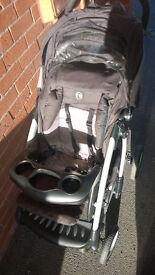 Pushchair Stroller + baby car seat + carrycot