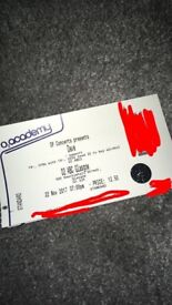 1 Spare ticket for Sold out Dave gig Glasgow