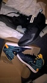 nike and addidas mens trainers