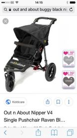 Brand New Single Nipper Out and About all terrain outdoors buggy