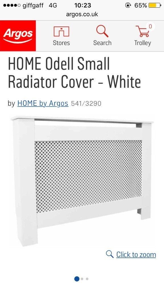 White radiator covers
