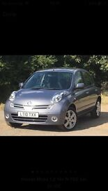 Nissan micra only 36000 miles 2010 with 12 months mot £2500
