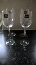 4 Liqueur Glasses with box