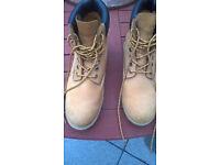 Firetrap Men's Tan Brown Suede Boots Size 11