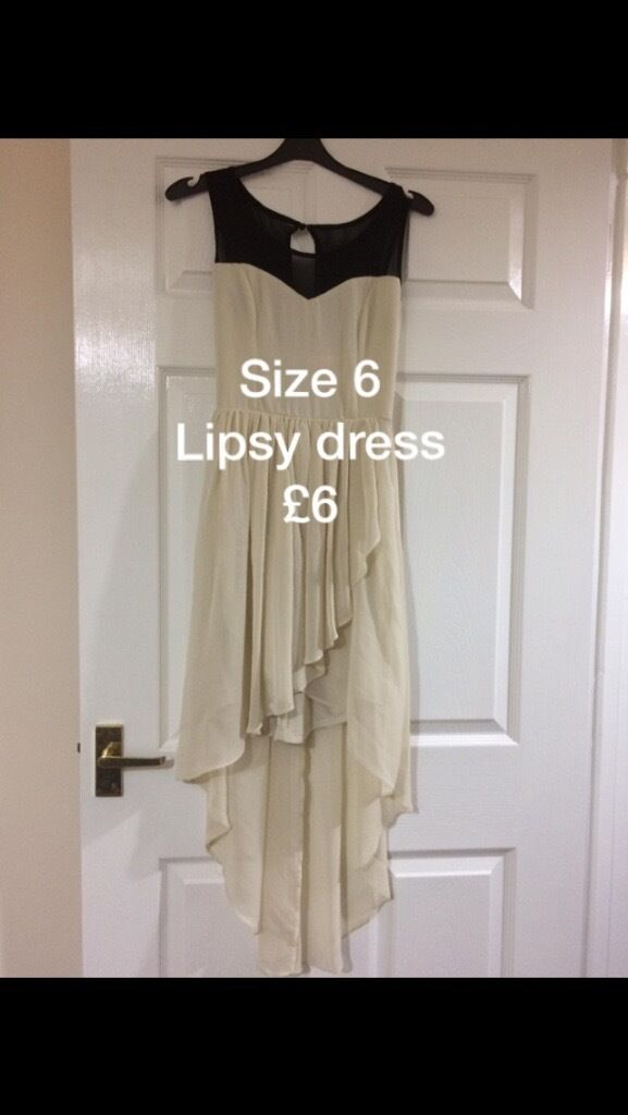 Lipsy dress size6in Norwich, NorfolkGumtree - Lipsy dress size 6 Cost me £55 only warn once, so like new. Collection North walsham, Norfolk