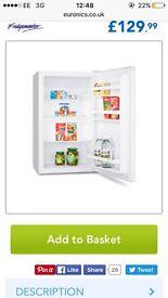 Brand new never used Undercounter fridge