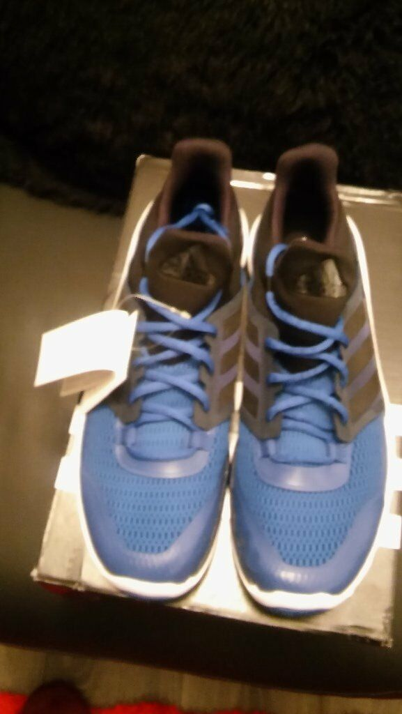 official photos 62424 bef4e brand new in the box mens adidas adipure 360 3 trainers size 12 blue and  black