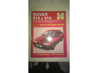 Haynes Rover 214 & 414 Service Manual