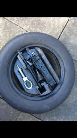 Ford Fiesta spare wheel