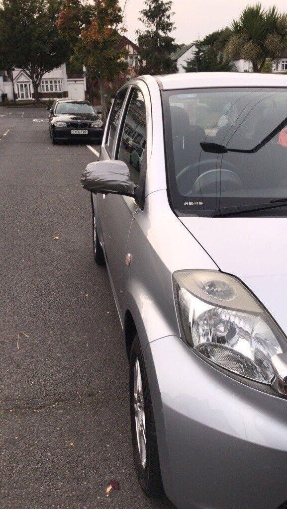 Daihatsu Sirion 1L Manual Silver Hatchback New Clutch Low Mileage
