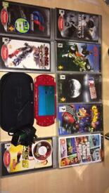 Red PSP mint condition