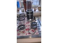 Nutribullet including two cups and lids