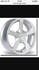 17inch fox alloys with good tyres
