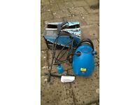 Powerbase 1500w Pressure Washer with accessories