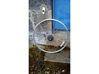"26"" back wheel bike + 6 speeds freewheel"