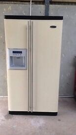 Cream Rangemaster Fridge freezer