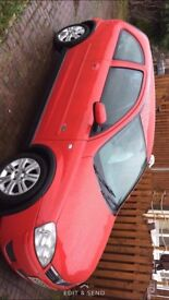 Vauxhall Corsa parts red breaking 44k
