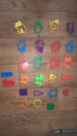 Play doh ELC animal shaped cutters