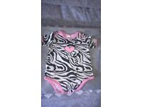 gorgeous pink heart baby girl baby grow for sale