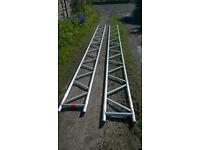 Scaffolding beams 6m long