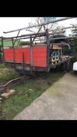 HAY TRAILER FOR SALE