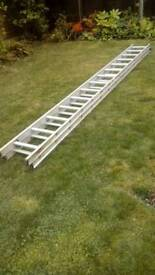 Aluminium Extending Ladders