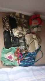 Handbags assorted