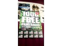 Paintball tickets
