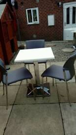 Table and chairs £35 table worth over £150
