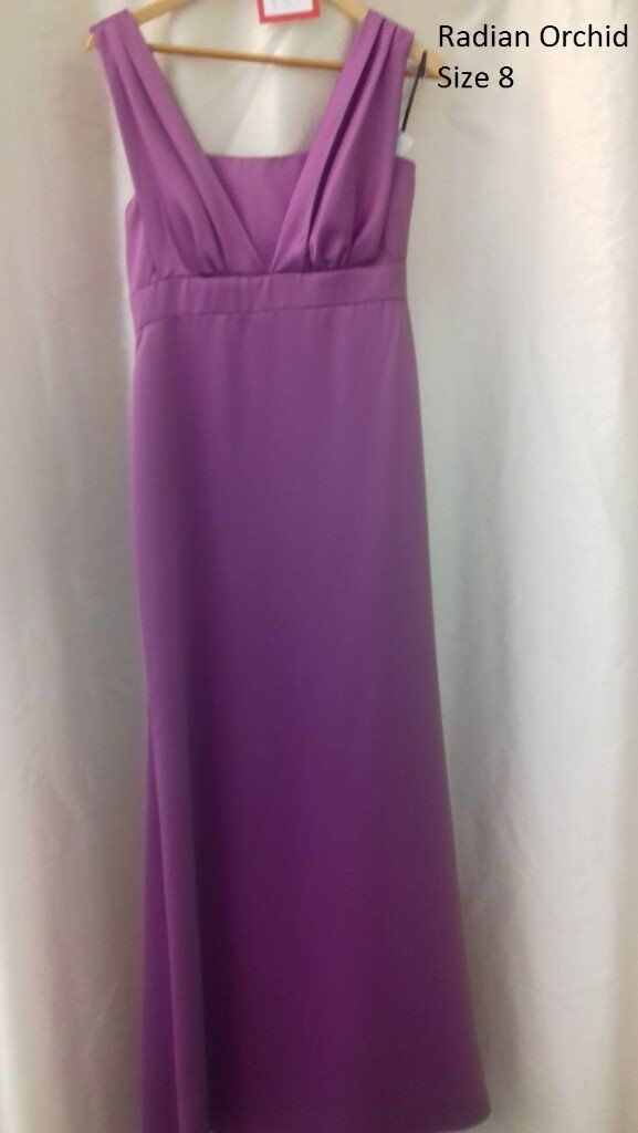 Dessy Bridesmaids Dress 2899 in Radiant Orchid size 8 | in Northwich ...
