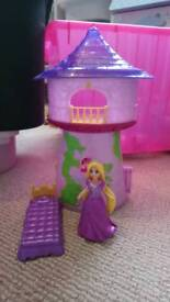 Magiclip princesses and houses